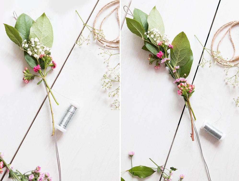 Flowercrown binden Blumen Blumenkranz diy Selbermachen blumenkranzbinden krone