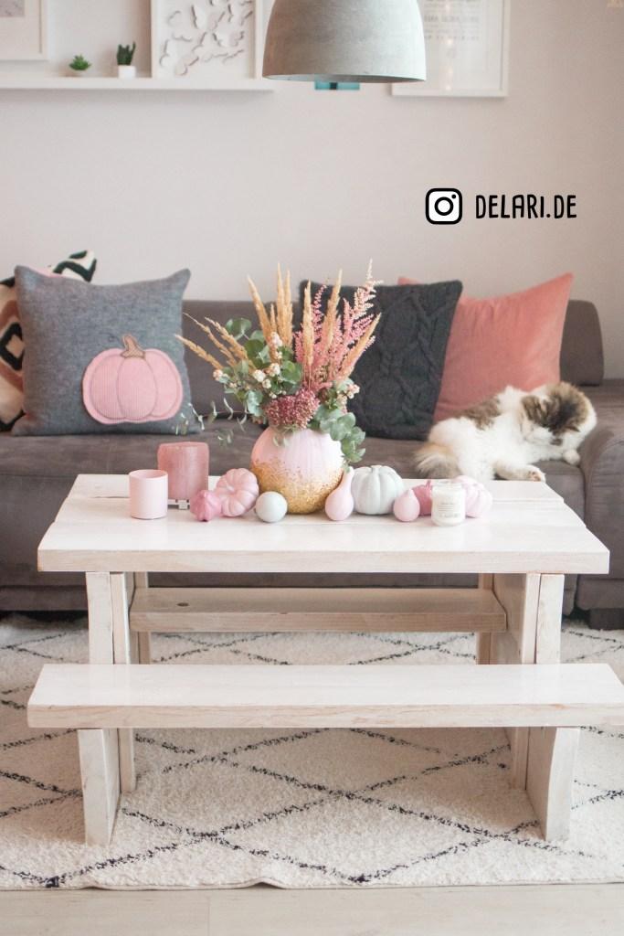 Kürbisse Selbermachen DIY delari Herbst deko