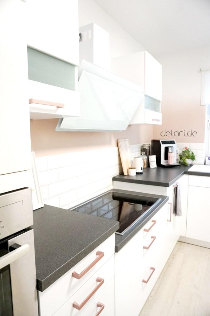Küchen Make over Ombree Wall Küchenschränke lackiert