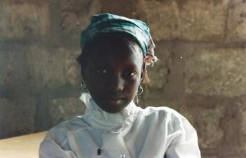 Jeune fille Diola, Casamance, Sénégal, 1998