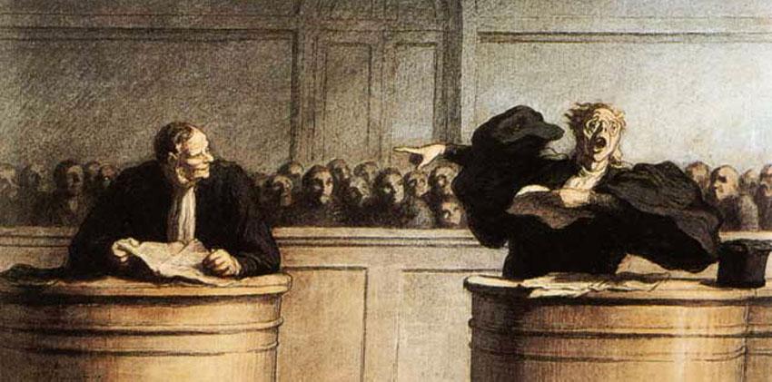Le Monde De La Justice Vu Par Le Caricaturiste Daumier