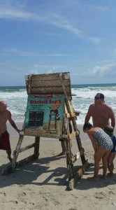 rehoboth beach lifeguard stand, atlantic ocean, OBX, salvo beach