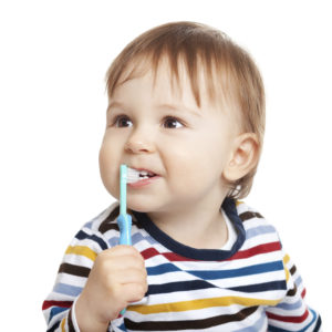 white spots on baby teeth