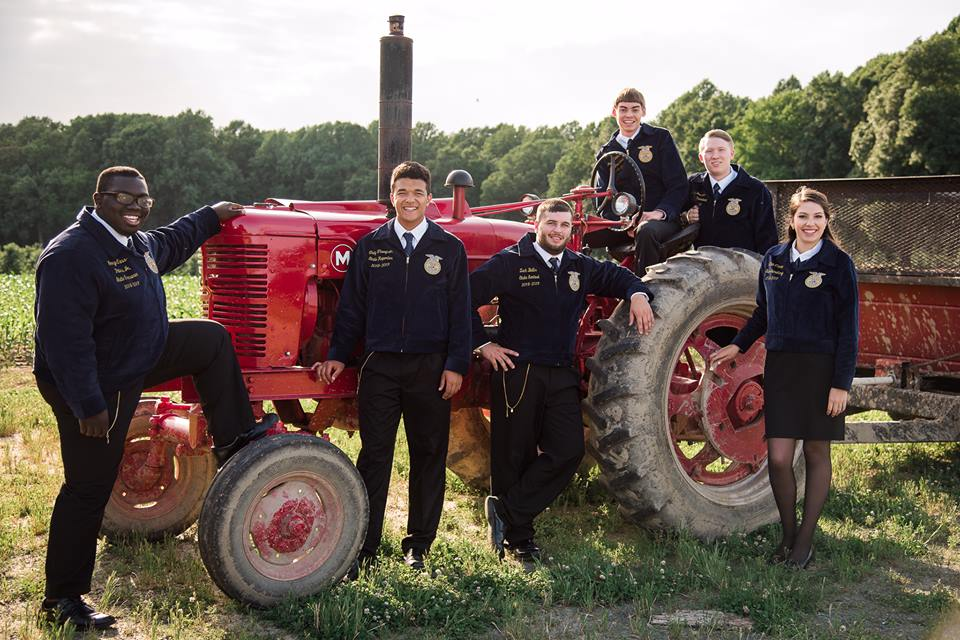 Delaware FFA State Officers