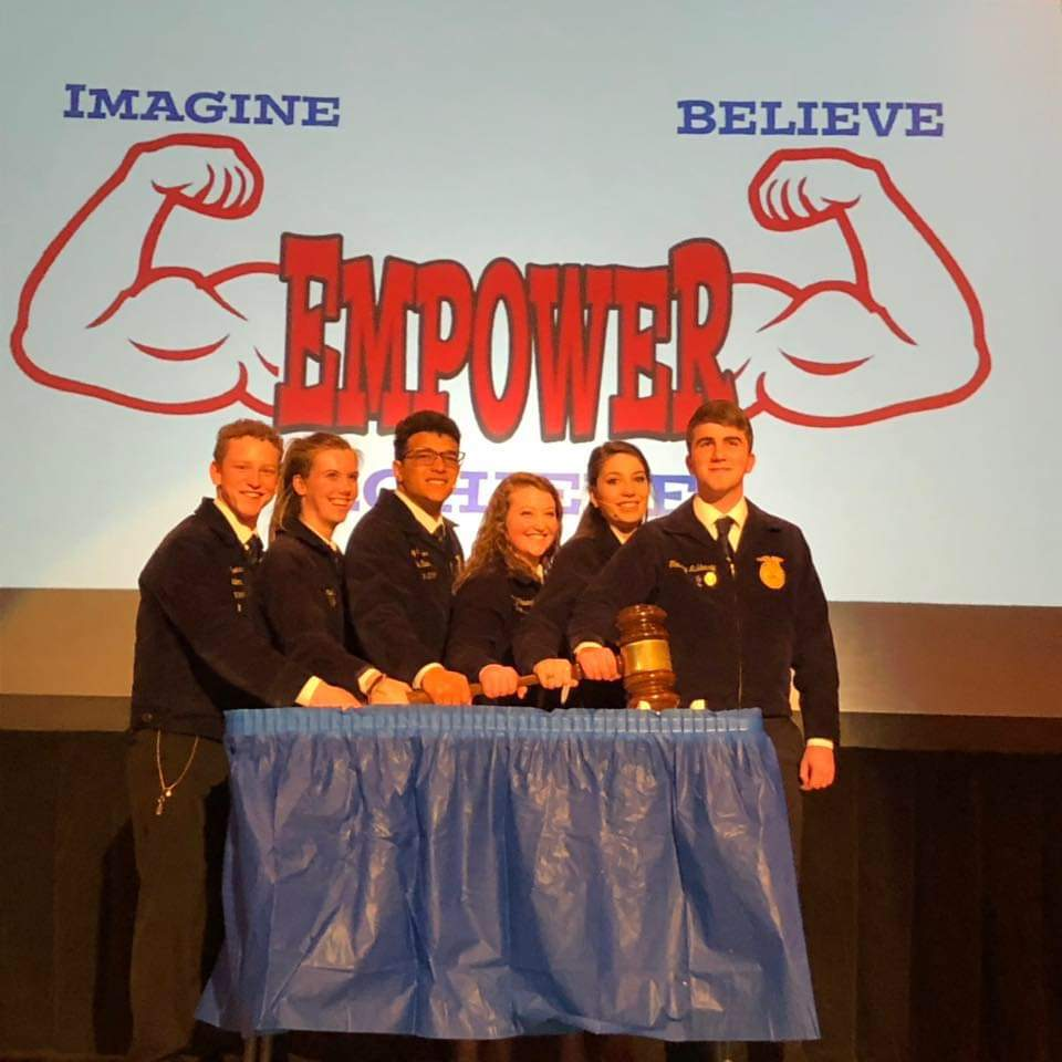 2019-2020 Delaware FFA State Officers