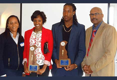 DSO 2014 Outstanding Volunteer DSU Track & Field Krystal Sheets-Mackenzie and Duane Henry Outstanding Volunteer Award