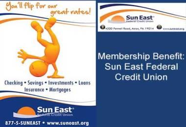 Membership Benefit: Sun East Federal Credit Union