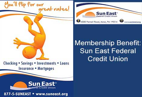 Membership Benefit: Sun East Federal Credit Union