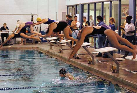 Women's Swimming Event