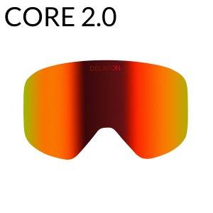 DELAYON Eyewear CORE2.0 Ski Brille Goggle Scheibe Space Fire