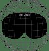 DELAYON Eyewear Core Goggle Cylindric Lens