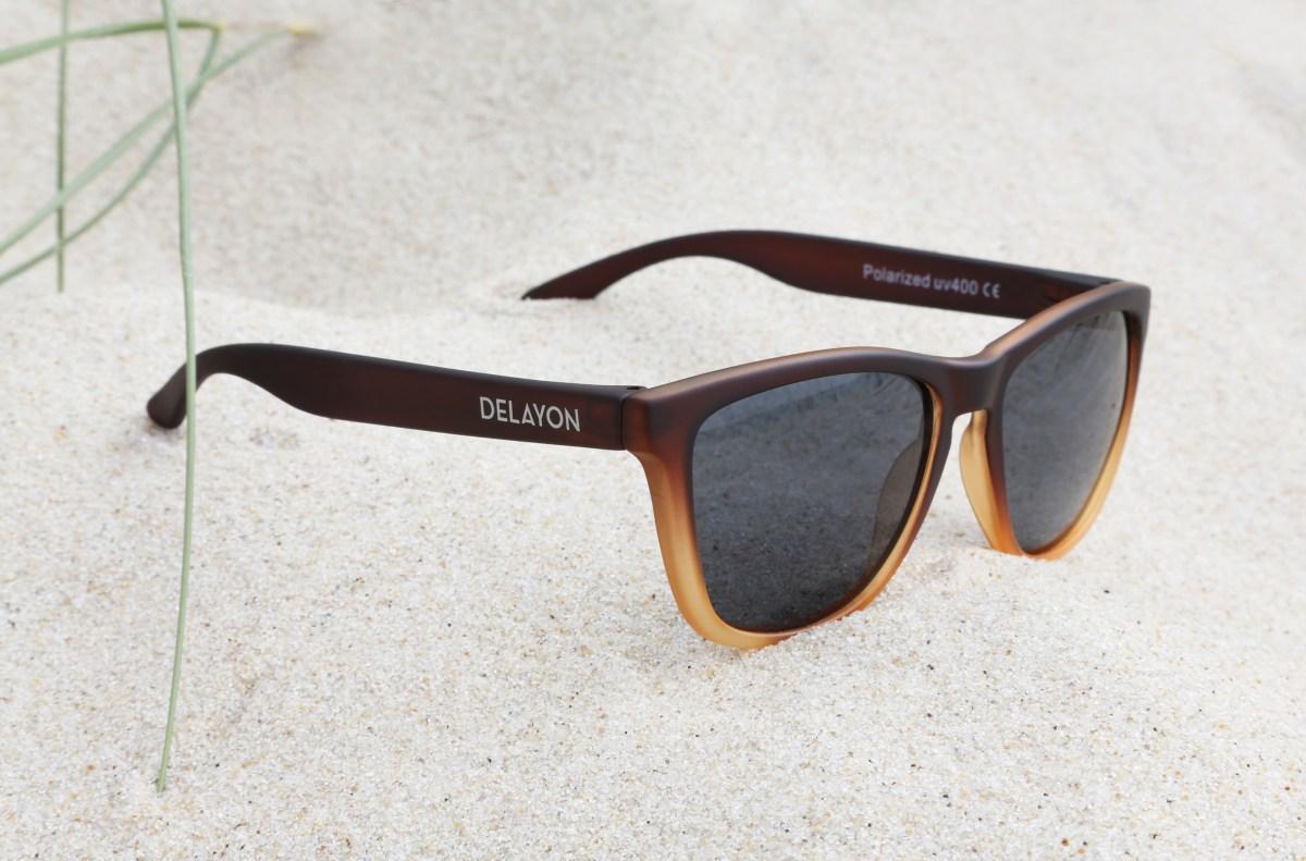 Delayon Eyewear Venture Sunglass Ombre Brown