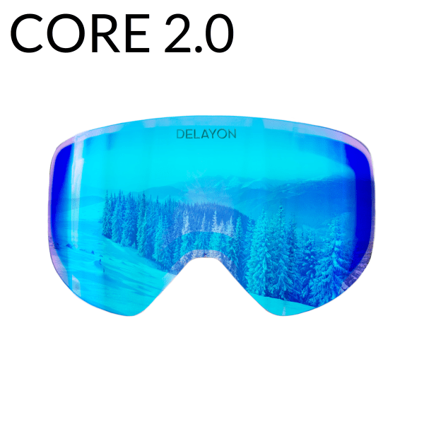 DELAYON Eyewear CORE2.0 Lens Space Black