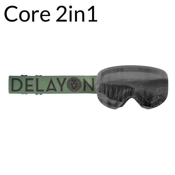 DELAYON Eyewear CORE 2.0 ARMY Green Black