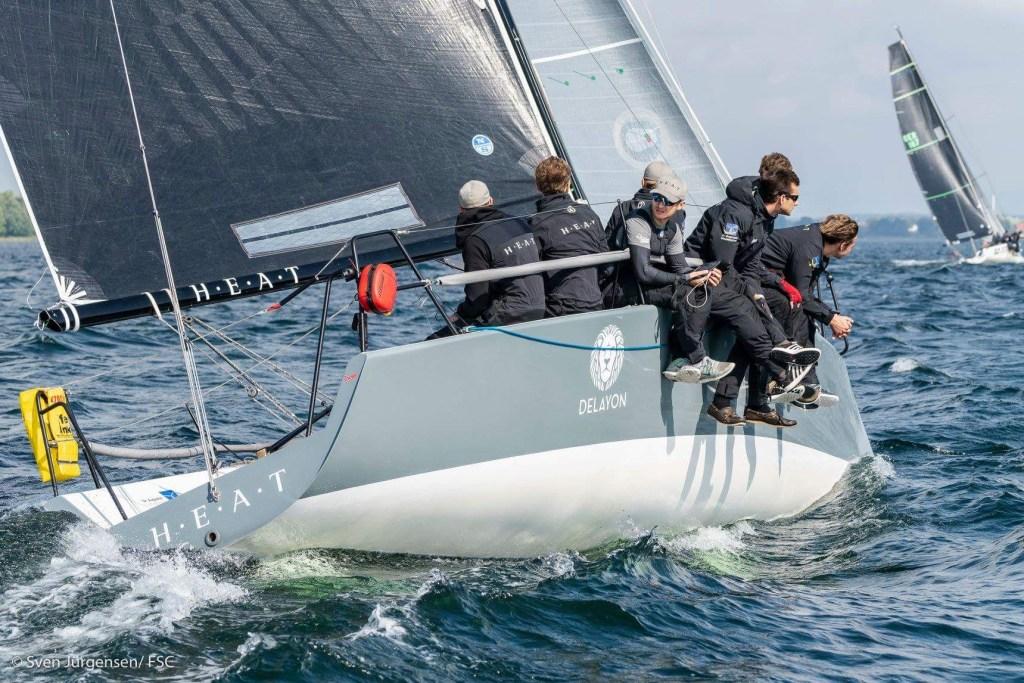 HEAT Farr 30 Sailing DELAYON Eyewear