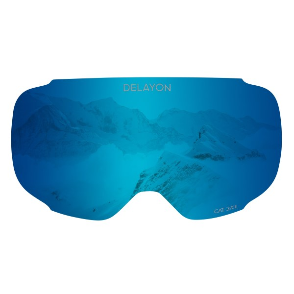 DELAYON Eyewear Explorer Lens Space Blue