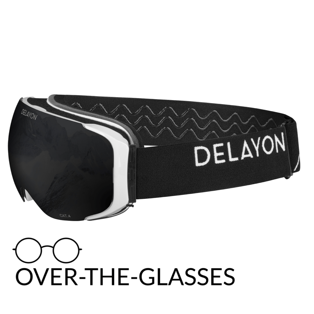 DELAYON Eyewear Explorer OTG White Black STRONG Black