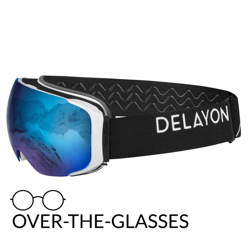 DELAYON Eyewear Explorer OTG White Black STRONG Blue
