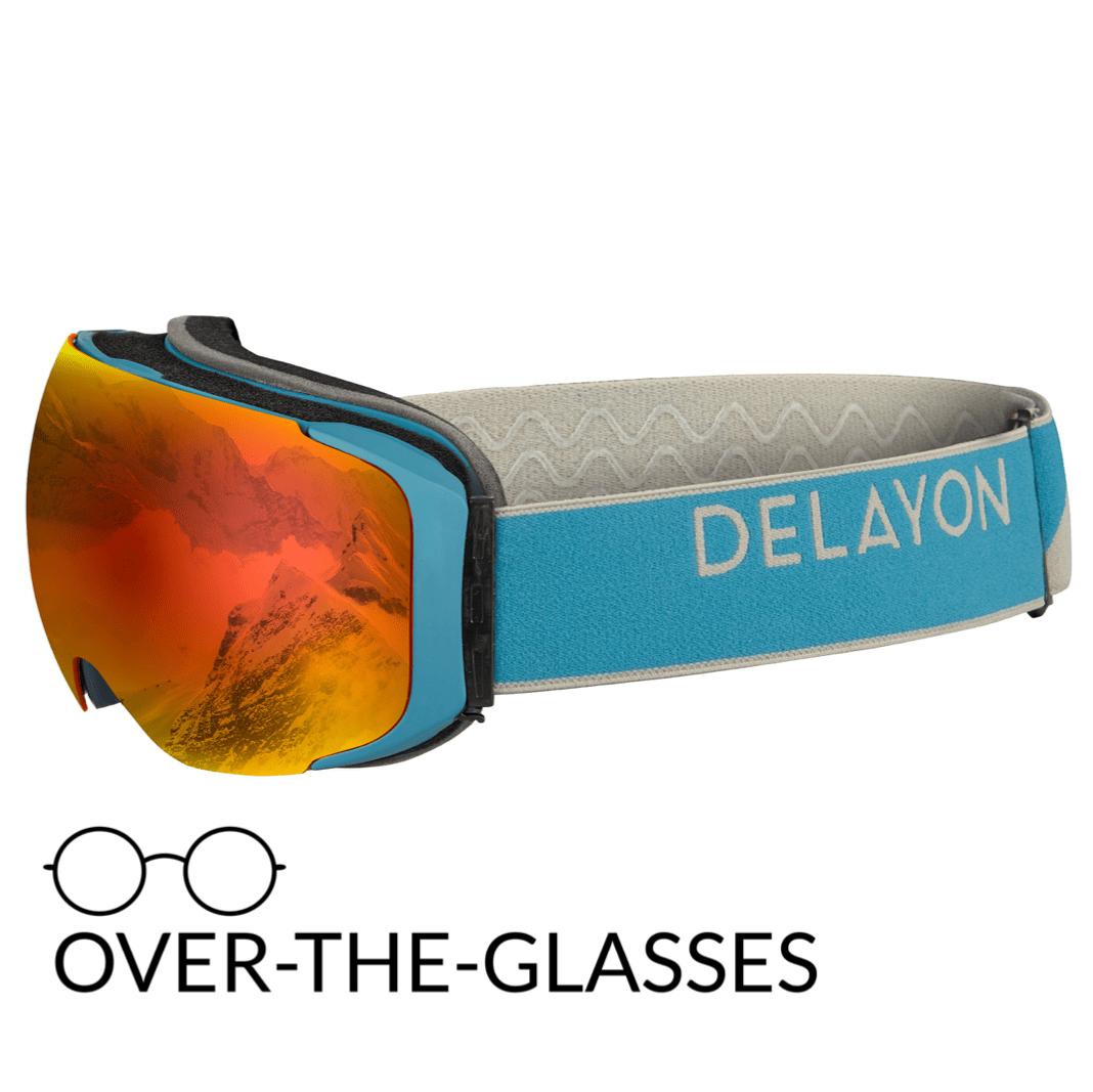 DELAYON Eyewear Explorer OTG Navy Gray Space Fire