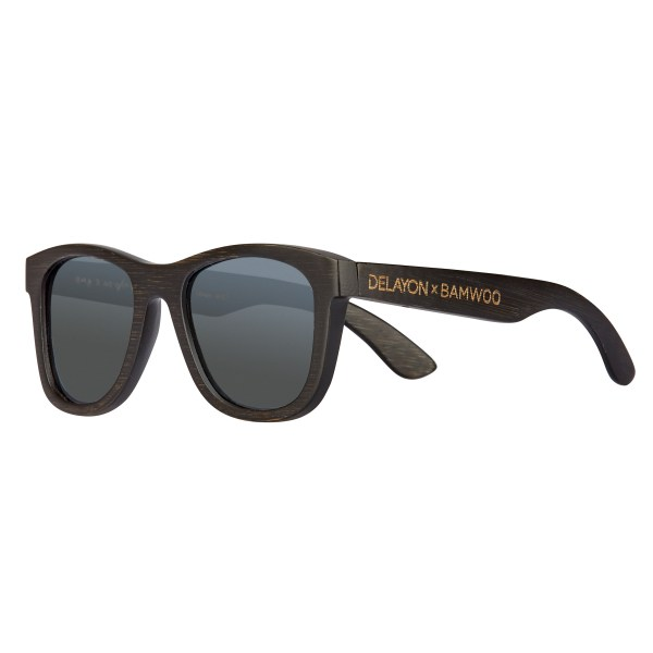 DELAYOn x BAMWOO Jungle Sunglass Dark Silver