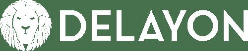 DELAYON Eyewear Logo White