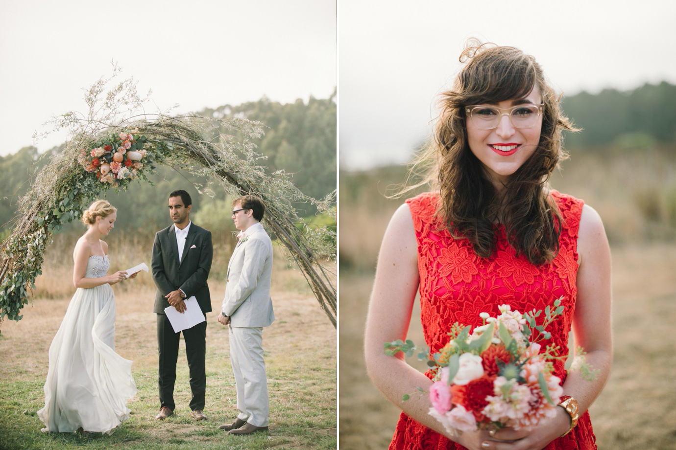TIm Amp Anna Costonoa Wedding Featured In Martha Stewart