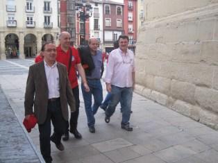 Pedro, Mikel, César, Ion
