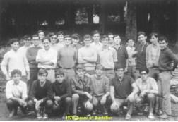 1970 Zuazo 6º Bachiller J. Basterrika, Errasti, Lete, ...