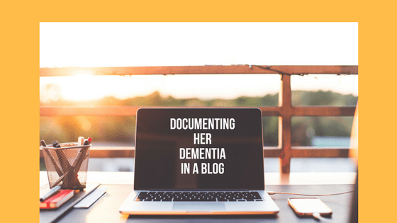 Documenting Her Dementia in a Blog