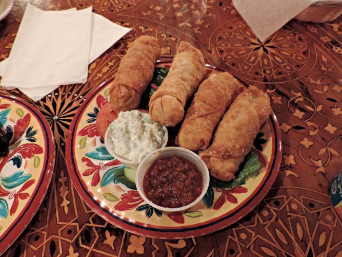 Sambosa appetizer