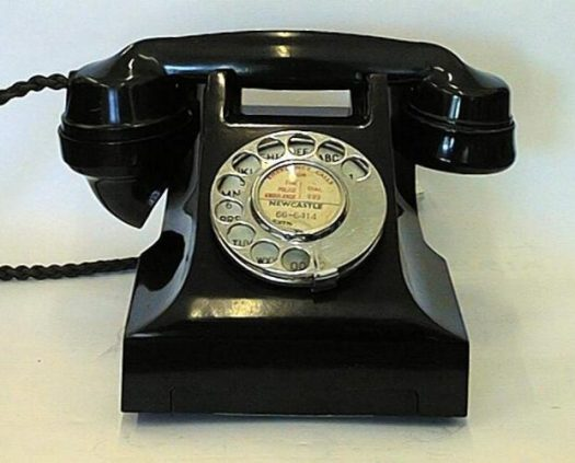 old style telephones