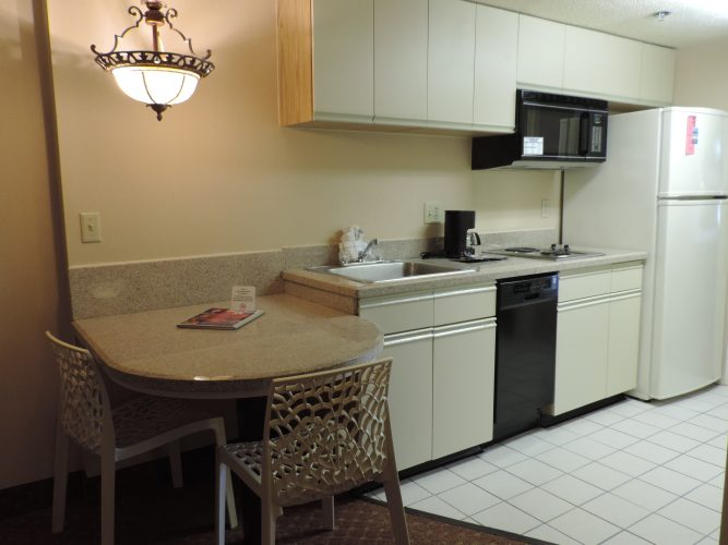 kitchenette at the Princess Royale
