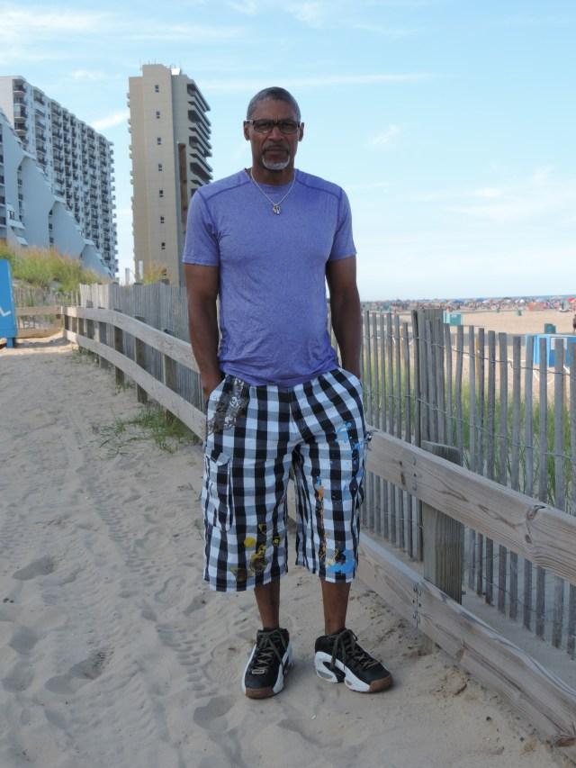 on the beach at ocean city maryland