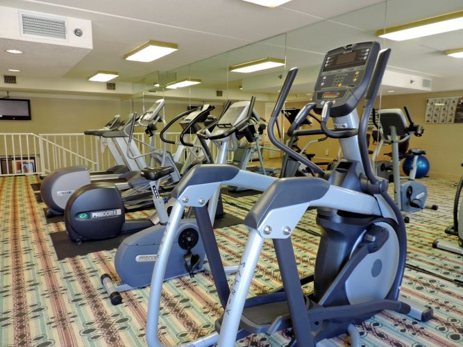 Fitness Center at The Princess Royale