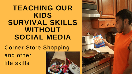 Teaching Kids Survival Skills without Social Media