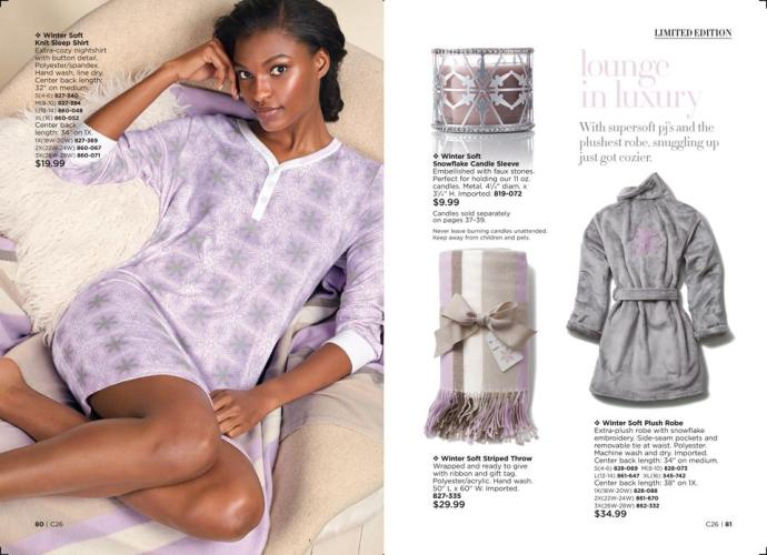 clothing from Avon