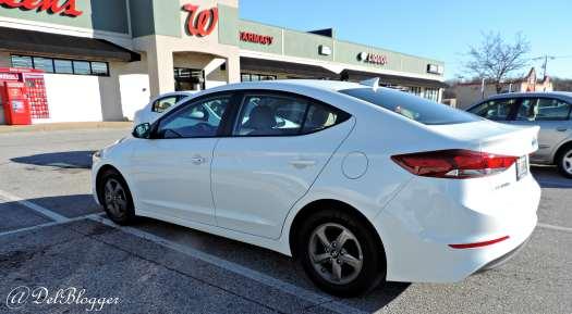 Hyundai-Elantra-Eco-Review-parked-at-walgrees