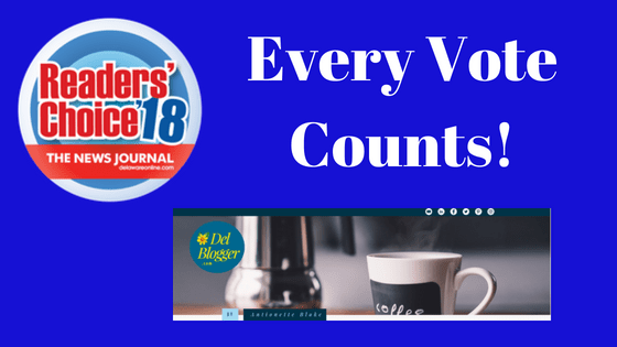 Every Vote Counts & I Need Yours in the Readers' Choice 2018 Contest