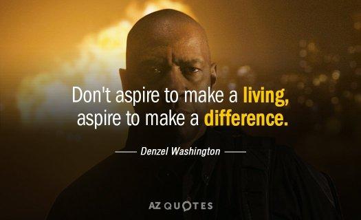Denzel Washington quote
