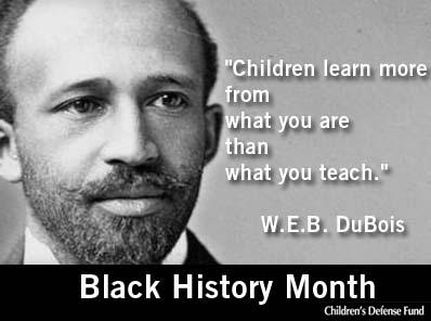 W.E.B. DuBois Quote