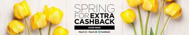 Spring for Extra Cashback