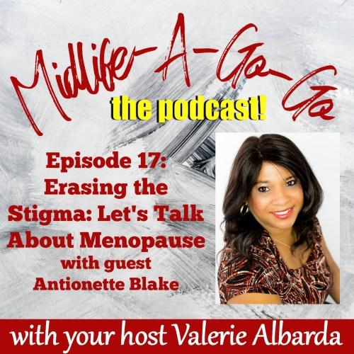 DelBlogger Menopause Podcast with Valerie Albarda