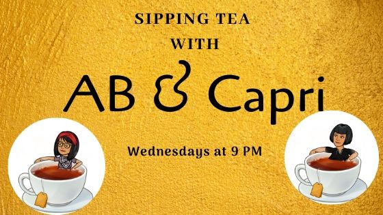 Sipping Tea with AB & Capri Banner