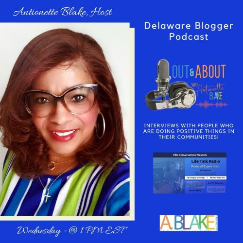 Out & About with Antionette Podcast