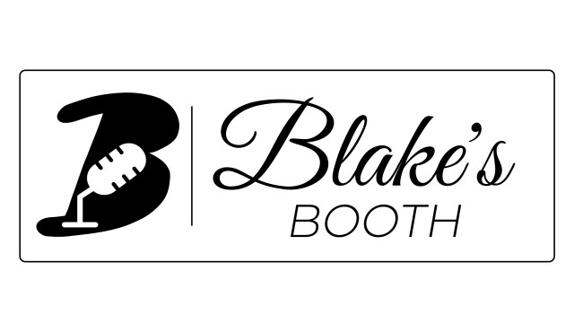 Blake's Booth Podcasting Studio Logo