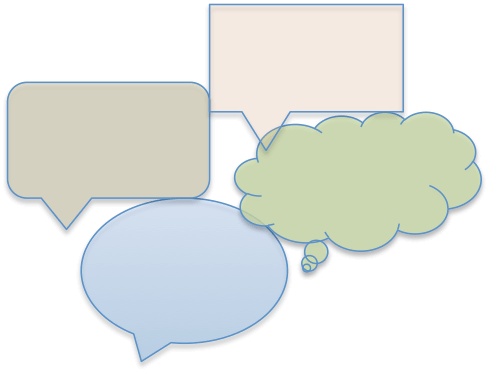 Estrategia de comunicación (viñetas o bocadillos)