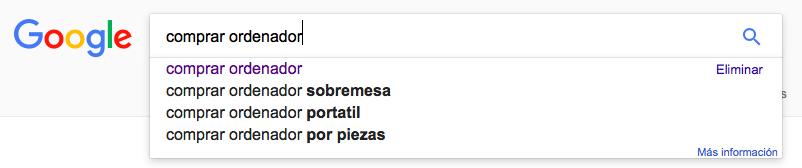 Google Instant buscador