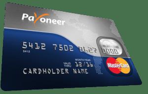 Payoneer MasterCard + 25 dollars free