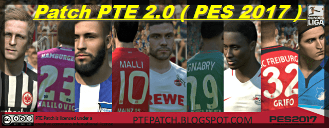 PES 2017) Patch PTE 2 0 : Download + Install - Del Choc Web