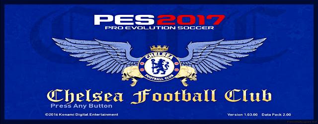 PES 2017 Graphic Menu Chelsea FC